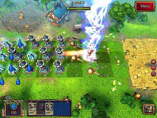 """游戏名称:绿野仙踪塔防 / 奥兹塔防(暂译) 英文名称:Towers of Oz [FINAL] 游戏类型:益智休闲/塔防策略 游戏开发:N-Game Studios 游戏发行:Big Fish Games 游戏平台:PC 发售时间:2012年12月 解压缩,运行""""开始游戏.EXE"""" 【游戏简介】   N-Game Studios制作,Bigfish发行,以著名童话故事《绿野仙踪》为题材的一款塔防小游戏。 【游戏截图】"""