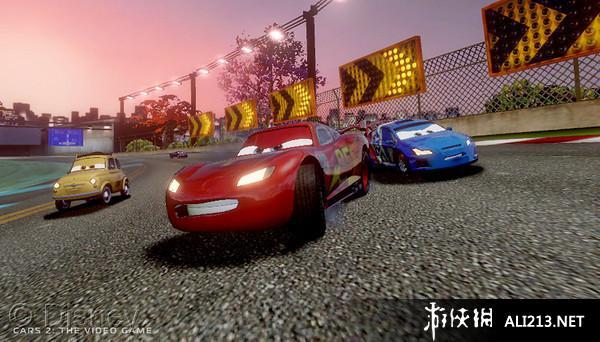 《汽车总动员2》3DS截图