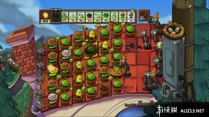 《植物大戰僵尸》PS3截圖