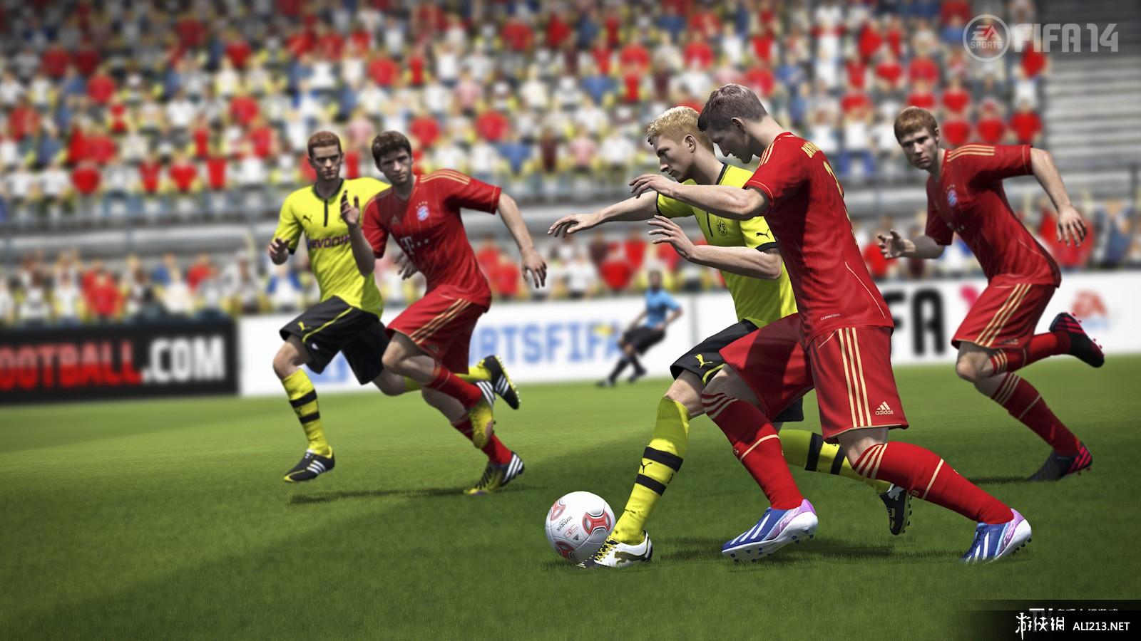《FIFA 14》WII截图