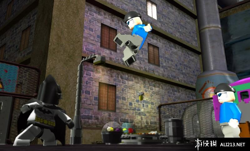 《乐高蝙蝠侠》XBOX360截图