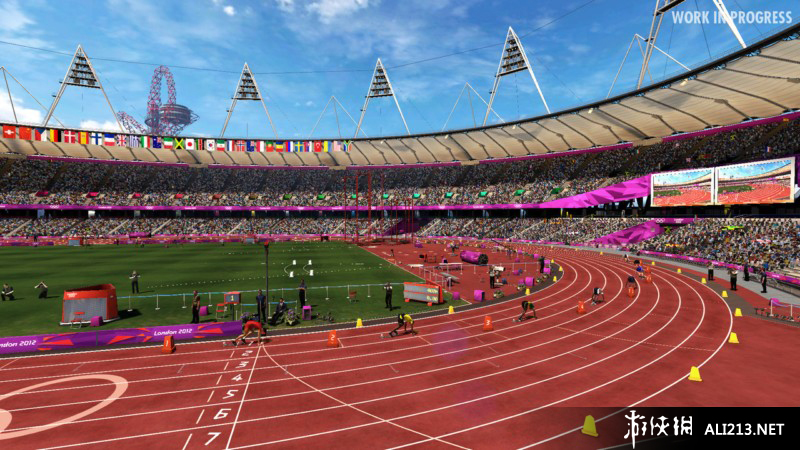 《伦敦奥运会2012》PS3截图