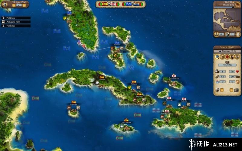 《海商王3》PS3截图
