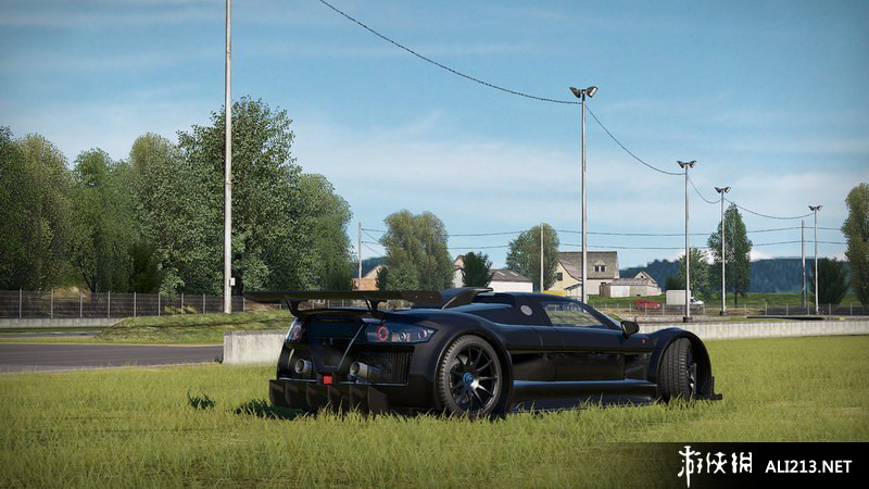 《赛车计划》PS4截图