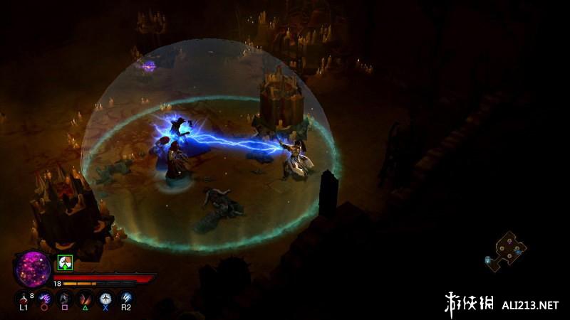 《暗黑破坏神3》XBOX360截图