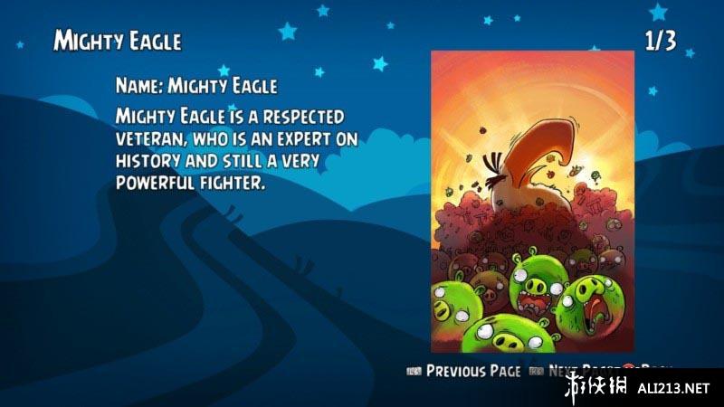 《愤怒的小鸟 三重包》WIIU截图