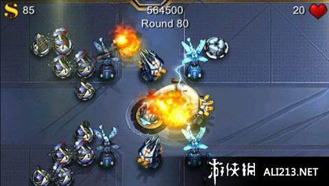《炮塔防御(PSN)》PSP截图