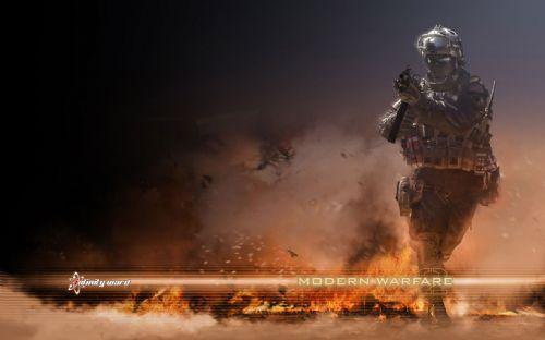 《使命召唤6现代战争2》游戏壁纸(第十七辑)-2