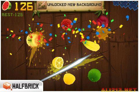 《水果忍者》游戏截图4