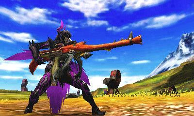《怪物猎人4》游戏截图-4