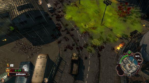 《僵尸车手:高清版》游戏截图