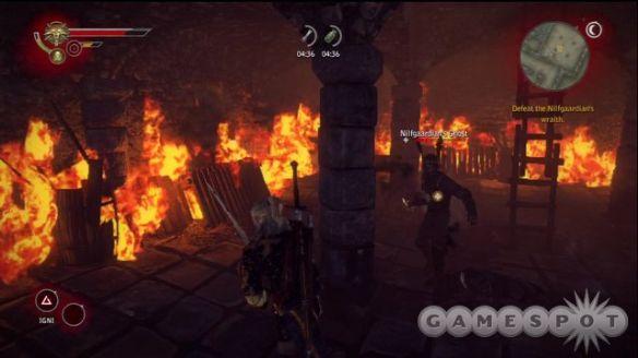 《巫师2》游戏截图