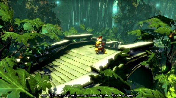 《怪鸡枪手:老虎与小鸡》游戏截图