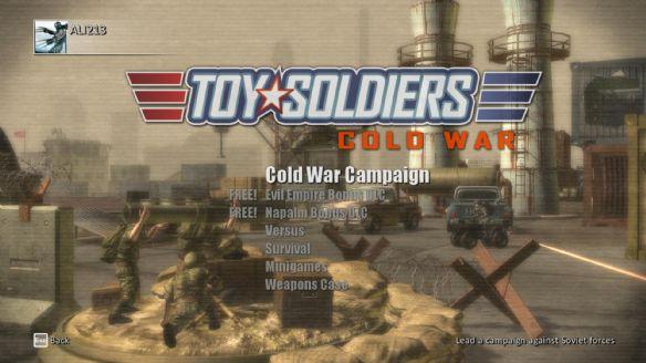 《玩具士兵:冷战》游戏截图