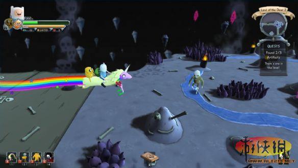 《阿宝和老皮的史诗任务》游戏截图