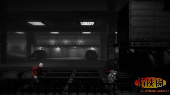黑白风格冒险解谜游戏《单色调》截图