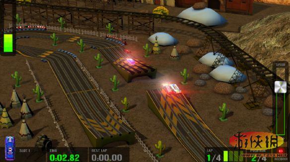 《高科技赛车:轨道赛车模拟》游戏截图