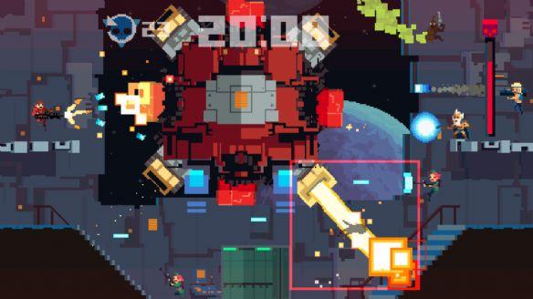 《超时空战队终极版》游戏截图