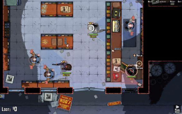 《偷天计划》游戏截图