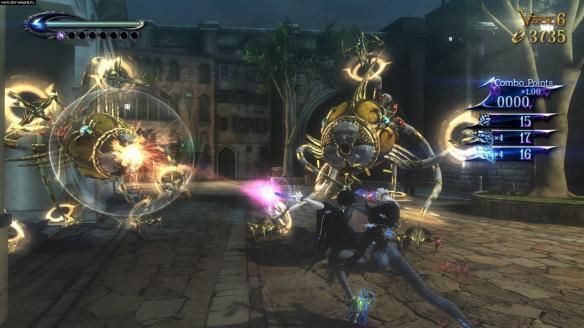 《猎天使魔女2》游戏截图