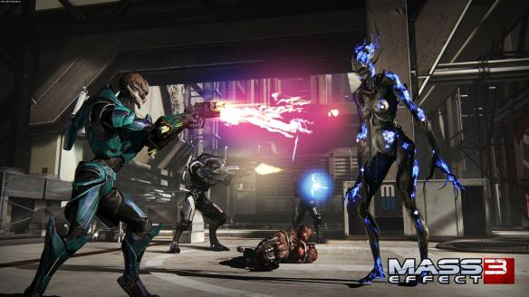 《质量效应3》游戏截图