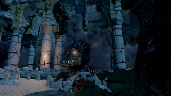 《劳拉和奥西里斯神庙》PC截图