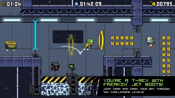 《喷射霸王龙》游戏截图