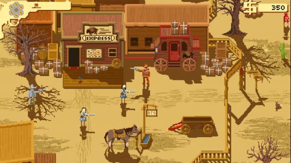 《西部正义:双管猎枪》游戏截图
