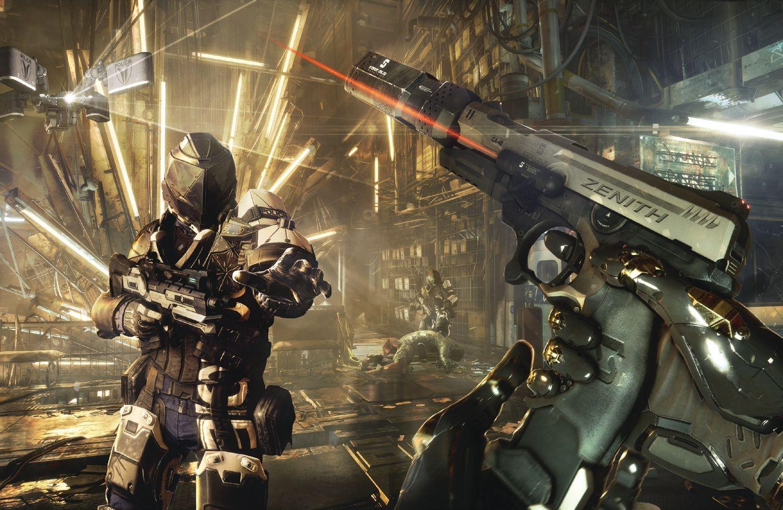 杀出重围:人类分裂游戏图片欣赏