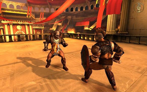 《我,角斗士》中文游戏截图