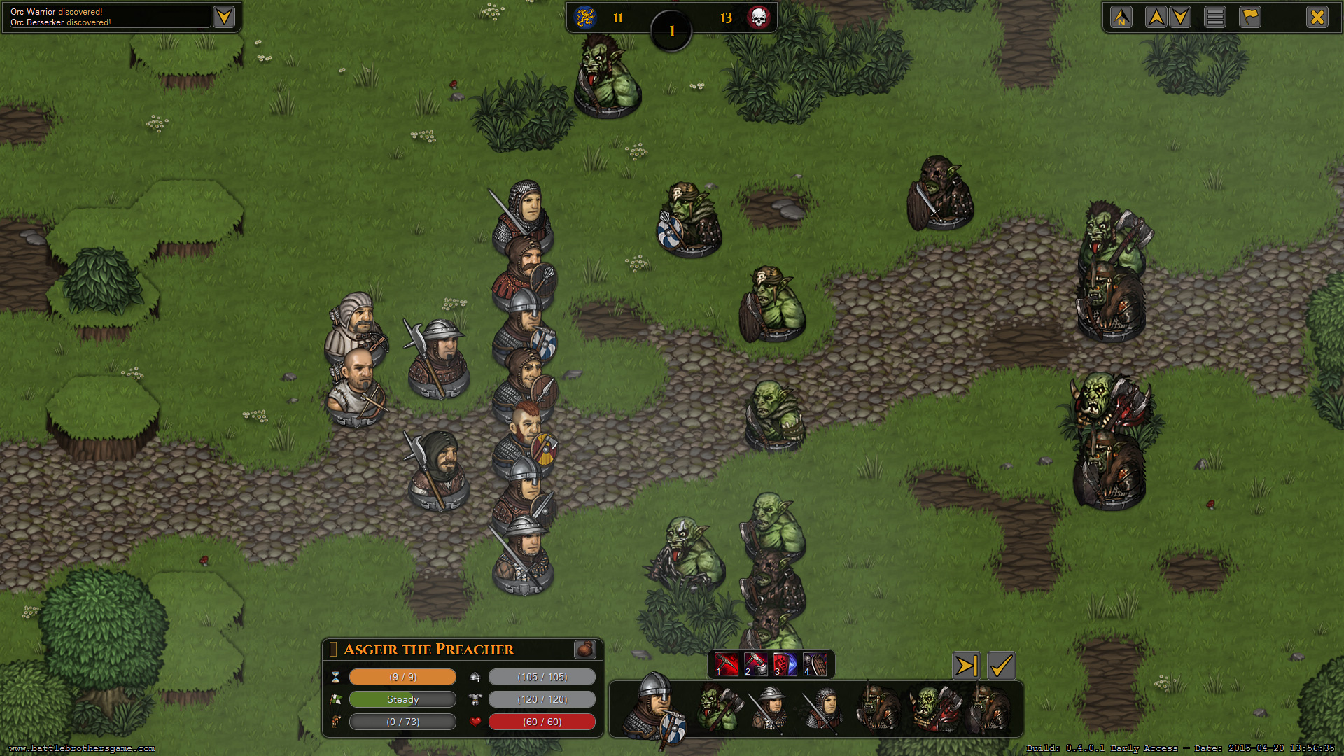 战场兄弟v1.3.0.25汉化版