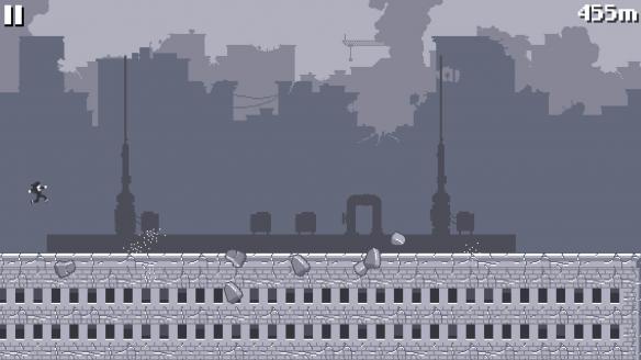 《屋顶狂奔》游戏截图