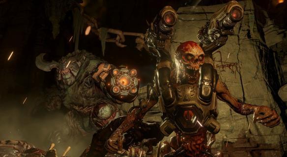 《毁灭战士4》游戏截图