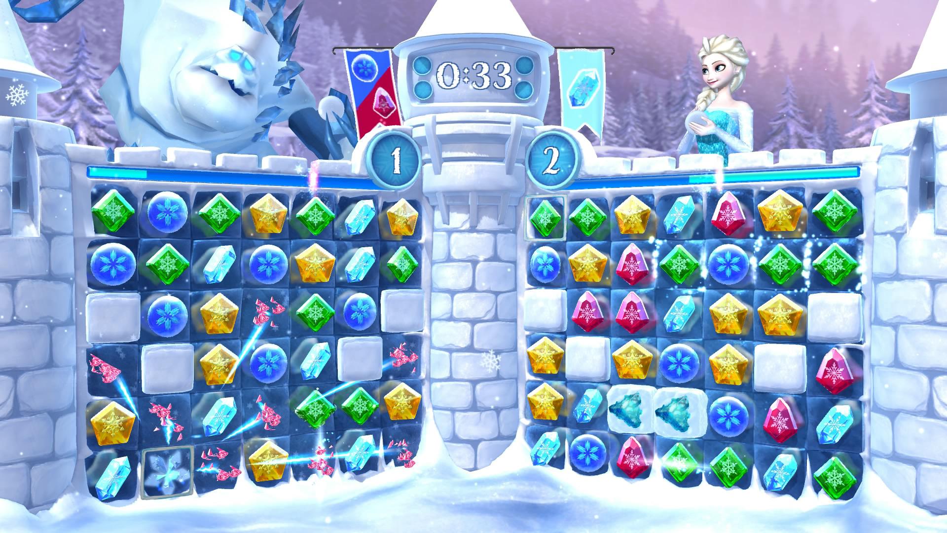 冰雪奇缘:冰纷乐游戏图片欣赏