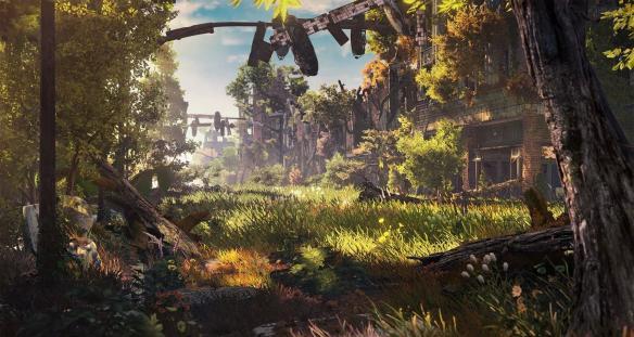 《地平线:黎明时分》游戏截图-2