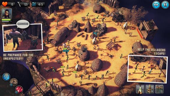 《最后的希望:塔防》游戏截图