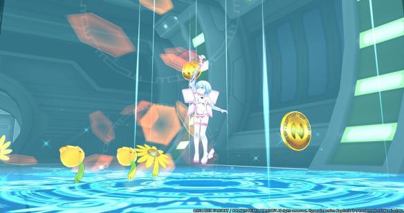 《超次元海王星U:战斗释放》游戏截图-1