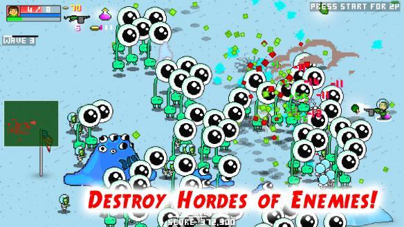 《僵尸派对》游戏截图