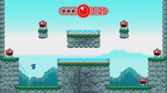 《10秒忍者X》游戏截图