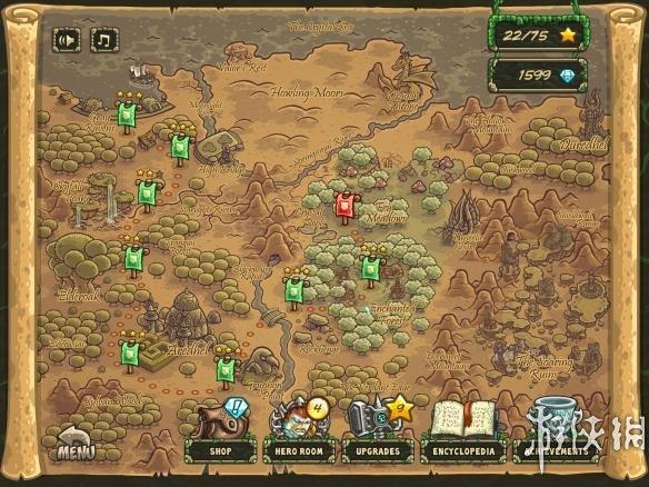 《王國保衛戰:起源》游戲截圖