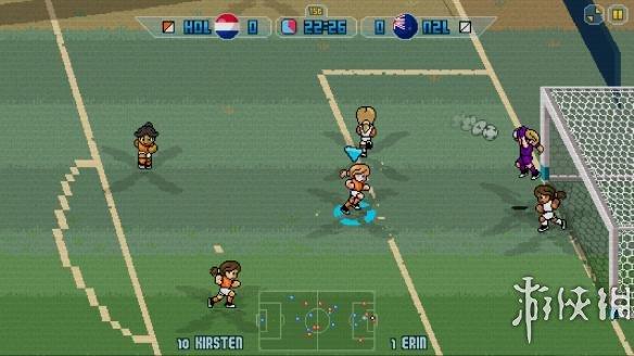 《像素足球杯17》游戏截图