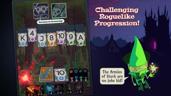 Roguelike+RPG元素卡牌游戏《巫术纸牌》专题站上线