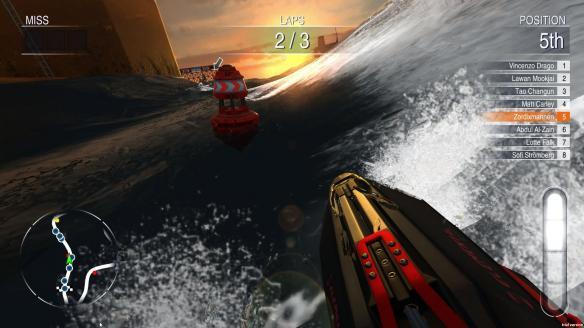 《水上摩托竞速天堂》游戏截图