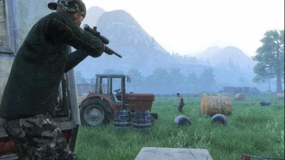 《H1Z1:大逃杀》游戏截图