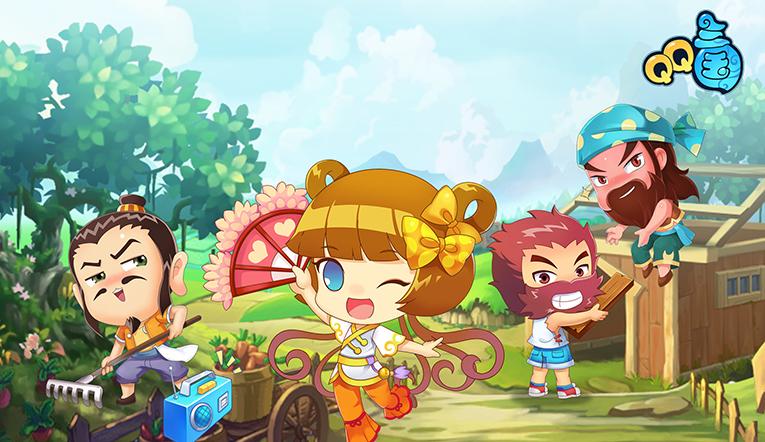 QQ三国游戏图片欣赏