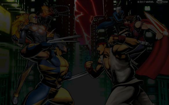 《终极漫画英雄对卡普空3》游戏截图