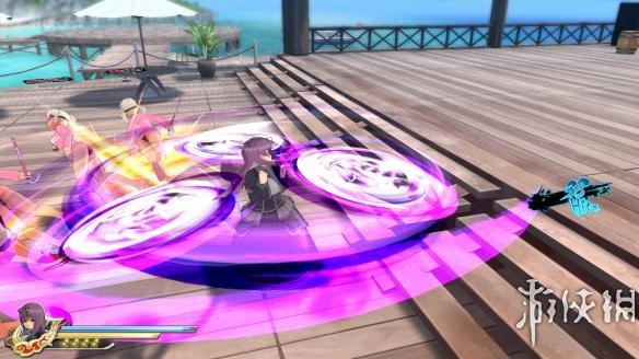《闪乱神乐:少女们的选择》游戏截图