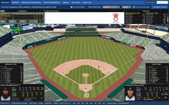 《劲爆美国棒球18》游戏截图