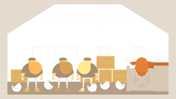 《壮汉海上漂流记》中文游戏截图