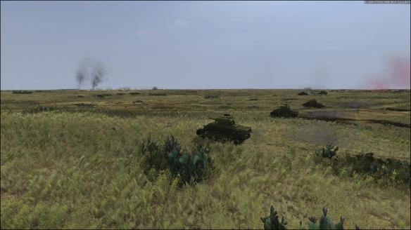 《坦克大战:突尼斯1943》游戏截图